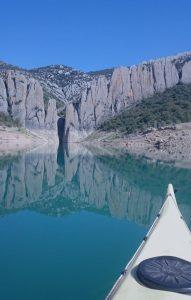 Kayak en Sierra de Finestres